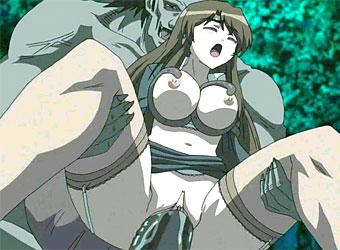 Monster hentai brutal Brutal 3D