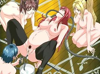 Hentai Bondage Orgy